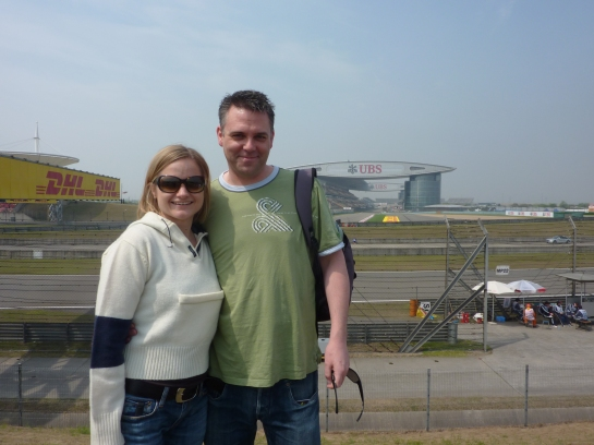 Paul & Bron at Grand Prix Shanghai 2012