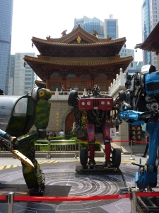 Transformers, robots in Jing'An