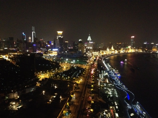 View of The Bund from the Char Bar