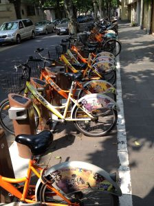 Boris Bikes, Shanghai Style