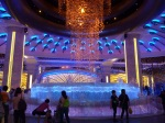 Water display in the Galaxy Casino