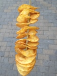 Crisps on a stick