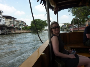 Bron on the Chao Phraya river