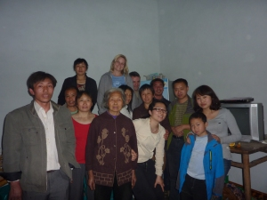 With Anny's extended family