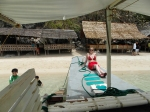 Bron on our island-hopping boat