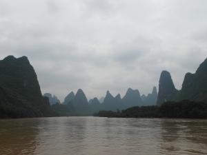 Boat to Yangshuo