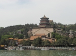 View across the lake in the Summer Palace