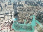 View from Burj Khalifa - it's real, honest.