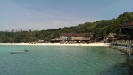 Our resort on Long Beach, Kecil, Perhentian Islands